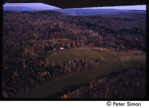 Thumbnail of Aerial view of Tree Frog Farm commune
