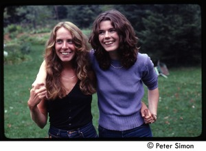 Thumbnail of Catherine Blinder and Lacey Mason, Tree Frog Farm Commune