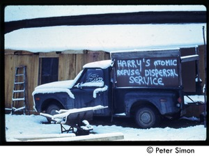 Thumbnail of 'Hippy snow removal': Harry's Atomic Refuse Dispersal Service, Tree Frog Farm Commune