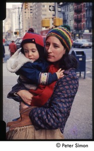 Thumbnail of Unidentified woman and child, probably in New York City