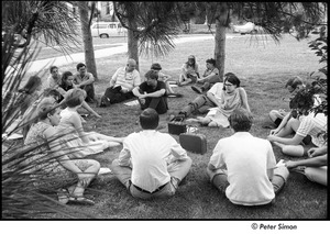 Thumbnail of National Student Association Congress: delegates meeting on a lawn