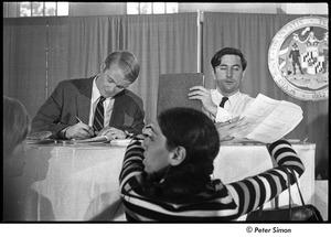 Thumbnail of National Student Association Congress: W. Eugene Groves (r) on a panel