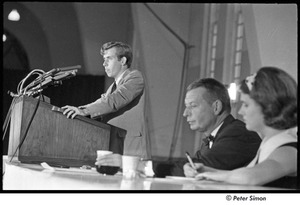 Thumbnail of National Student Association Congress: Sam Brown speaking at podium