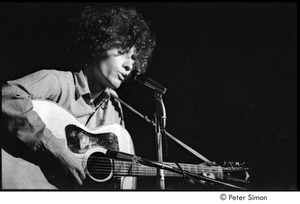Thumbnail of Tim Buckley at the Catacombs: Buckley performing