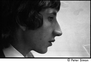 Thumbnail of Pete Townshend: close-up portrait