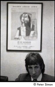 Thumbnail of Pete Townshend: seated for an interview
