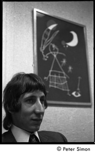 Thumbnail of Pete Townshend: during interview