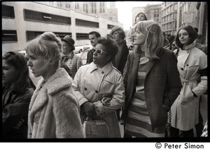 Thumbnail of Women marchers: commemoration of Martin Luther King