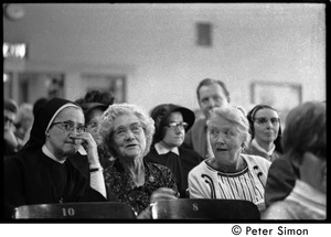 Thumbnail of Women and a nun at the Martin Luther King memorial service