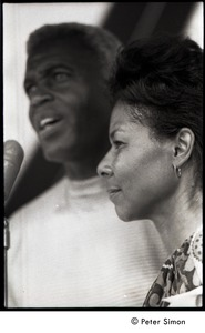 Thumbnail of Rachel Robinson, with Jackie behind