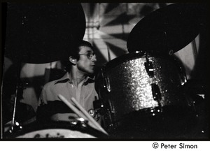 Thumbnail of Mickey Waller (drums) Jeff Beck group performing at the Boston Tea Party