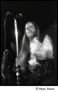Thumbnail of Tracy Nelson (Mother Earth) on stage in performance at the Boston Tea Party