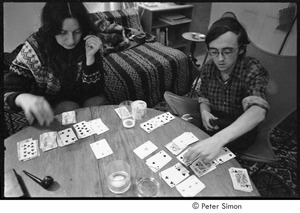 Thumbnail of Verandah Porche and Raymond Mungo playing cards, Packer Corners commune