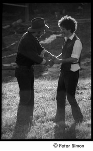 Thumbnail of Stephen Diamond (left) and Peter Gould, Montague Farm Commune