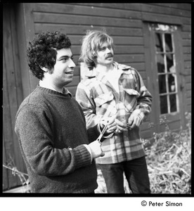 Thumbnail of Richard Wizansky (left) and Laurie Dodge, Tree Frog Farm Commune