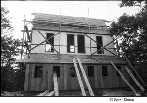 Thumbnail of James Taylor's house: house structure under construction