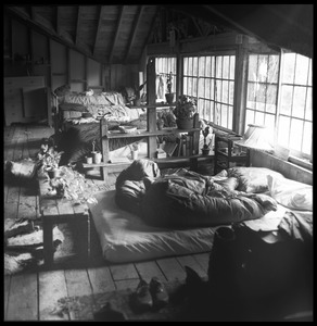 Thumbnail of Attic bedroom in the dormitory, Brotherhood of the Spirit commune