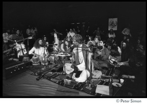 Thumbnail of Amazing Grace (band) performing at Winterland Ballroom, at a Ram Dass gathering Gangadhar (tablas) and Bhagavan Das (guitar)