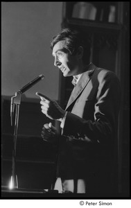 Thumbnail of Sanctuary movement and occupation of Marsh Chapel: Howard Zinn speaking