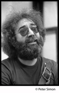 Thumbnail of Jerry Garcia: Grateful Dead in the studio (Automated Sound) Close-up portrait
