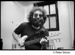 Thumbnail of Jerry Garcia playing guitar: Grateful Dead in the studio (Automated Sound)