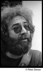 Thumbnail of Jerry Garcia: portrait close-up