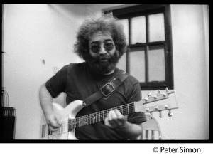 Thumbnail of Jerry Garcia: portrait with guitar