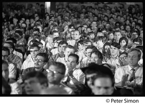 Thumbnail of Audience at the National Student Association Congress, watching debate between             Timothy Leary and Sidney Cohen on 'social philosophy'