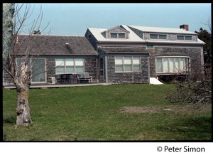 Thumbnail of Shore-side house with shake siding