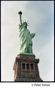 Thumbnail of Statue of Liberty: view from the front