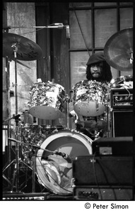 Thumbnail of Sly Dunbar playing drums with Peter Tosh on Saturday Night Live