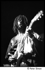 Thumbnail of Peter Tosh playing guitar on Saturday Night Live
