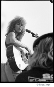 Thumbnail of Joni Mitchell performing at the No Nukes concert and protest, Washington, D.C.