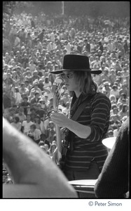 Thumbnail of Jefferson Airplane performing at the Fantasy Fair and Magic Mountain Music             Festival, Mount Tamalpais Jack Casady (bass)