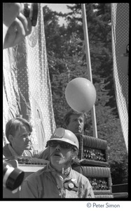Thumbnail of Jefferson Airplane performing at the Fantasy Fair and Magic Mountain Music             Festival, Mount Tamalpais Spencer Dryden (drums)