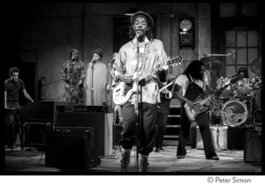 Thumbnail of Peter Tosh and band, performing on Saturday Night Live