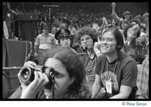 Thumbnail of Audience at the No Nukes festival, Madison Square Garden