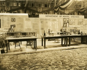 Thumbnail of Department of Mental Diseases psychology exhibit booth