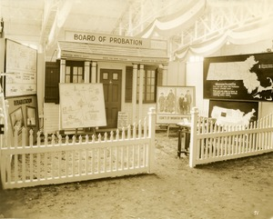 Thumbnail of Board of Probation exhibit booth