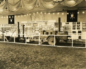 Thumbnail of Military Department exhibit booth