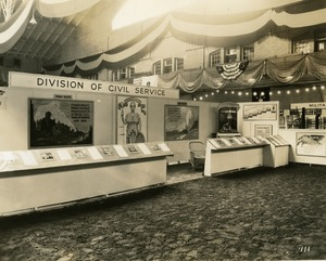 Thumbnail of Division of Civil Service exhibit booth