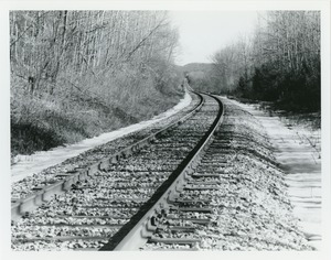 Thumbnail of Railroad tracks, curve and dip