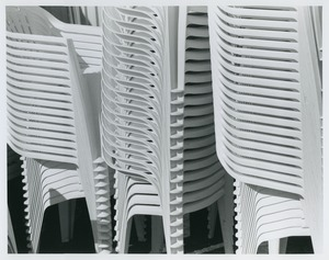Thumbnail of Stacked chairs at Harbor Park