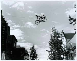 Thumbnail of Bike in sky near Hotel Fron