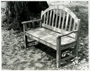 Thumbnail of Bench at the Austin Dickinson House