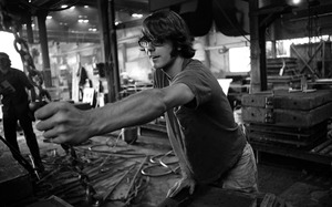 Thumbnail of Worker on the shop floor