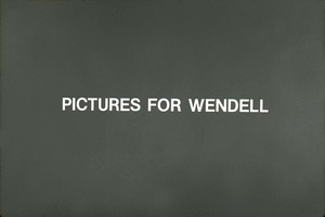 Thumbnail of Wendell Bicentennial slide show Title card for slide show