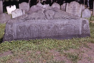 Thumbnail of Granary Burying Ground (Boston, Mass) gravestone: Neal family children (d. 1691)
