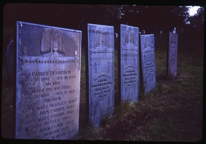 Thumbnail of Andover (Mass.) gravestones: Richardson and family (d. 1844)