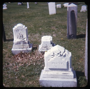 Thumbnail of Amherst (Mass.) gravestone: Eddie and Walter